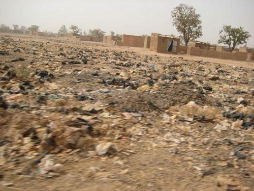 Paysage déchets