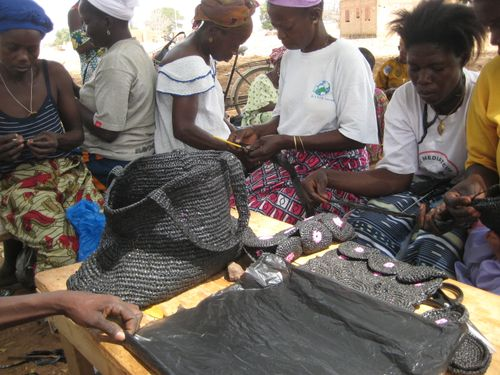 Femmes panier noir