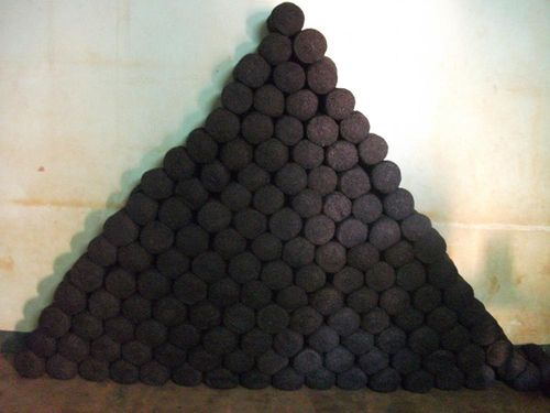 Pyramide de corbeilles