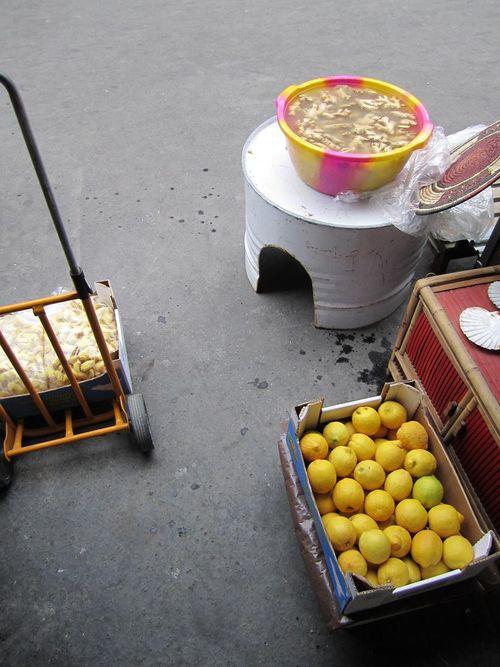 Citrons gingembre