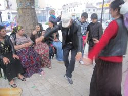 Danse tarzan sininka