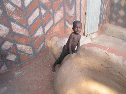 Enfant mur peint