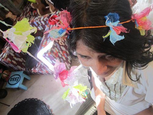 Nikolinka fleur cheveux