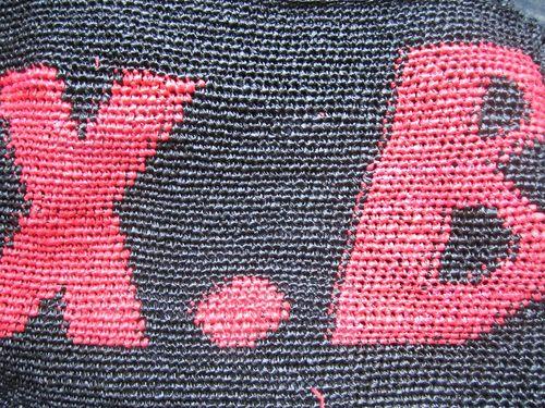 X.B crocheté