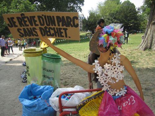 Parc sans déchets