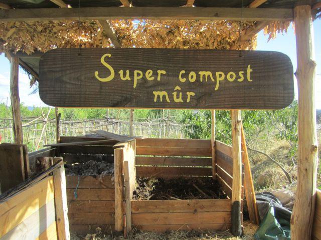Super compost mûr pancarte
