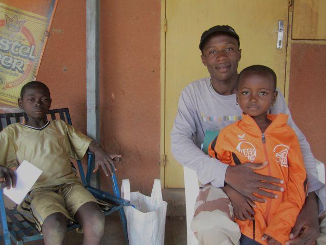 Pierre et 2 enfants à parrainer