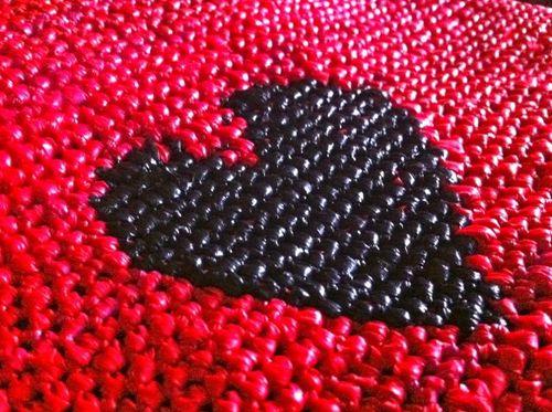 Coeur crochet
