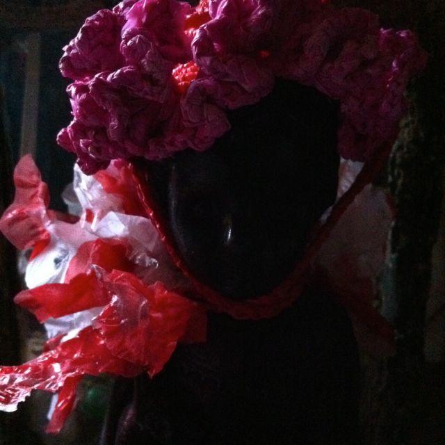 Clo chapeau fleur