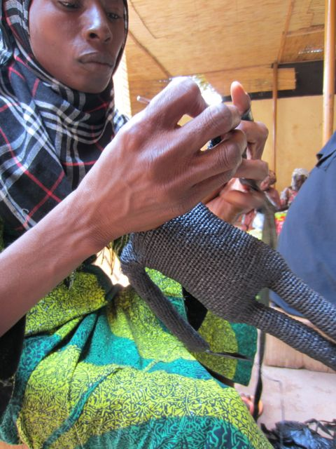 Salamata poupée crochet