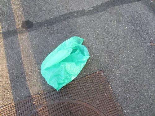 Sac vert rue 2