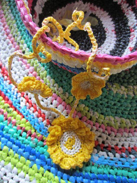 Multi bol tapis fleur
