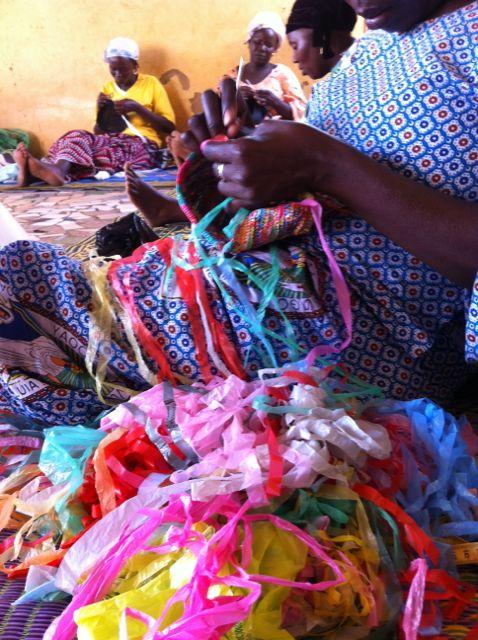 Crocheteuse de couleurs