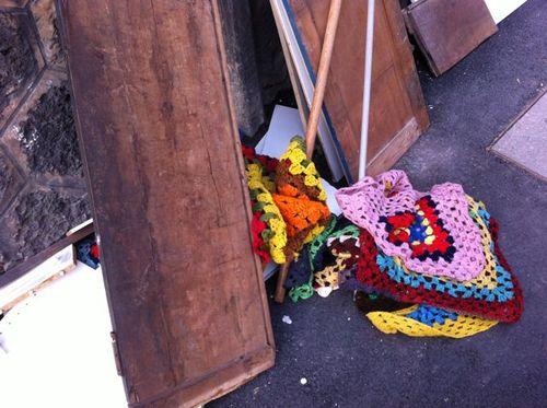 Coussins crochet