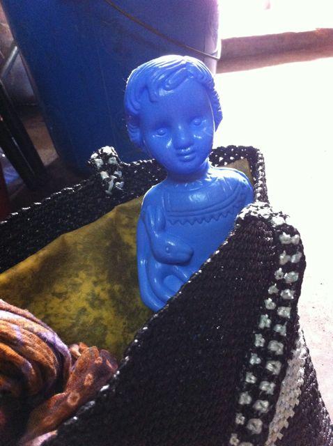 Blue clonette