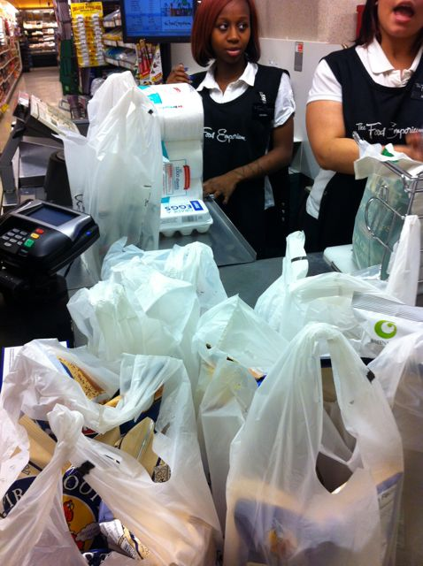 Supermarket plasticbags