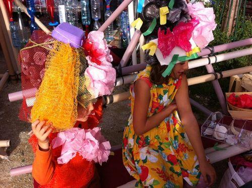 Chapeaux fillettes