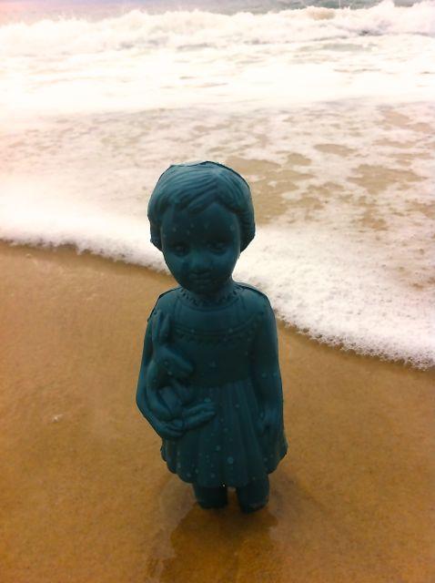 Clo dans la mer