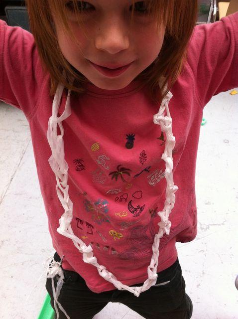 Chainette crochet doigts