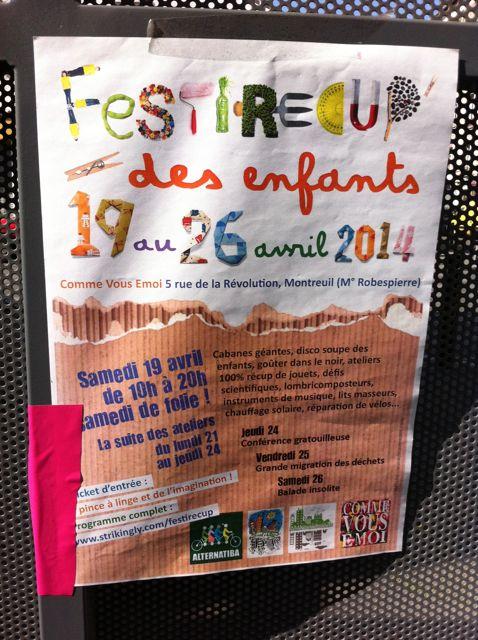 Affiche Festirecup