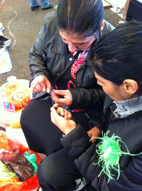 Lucia et Nikolinka crochet